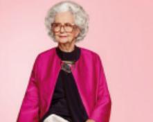 Una centenaria su Vogue UK
